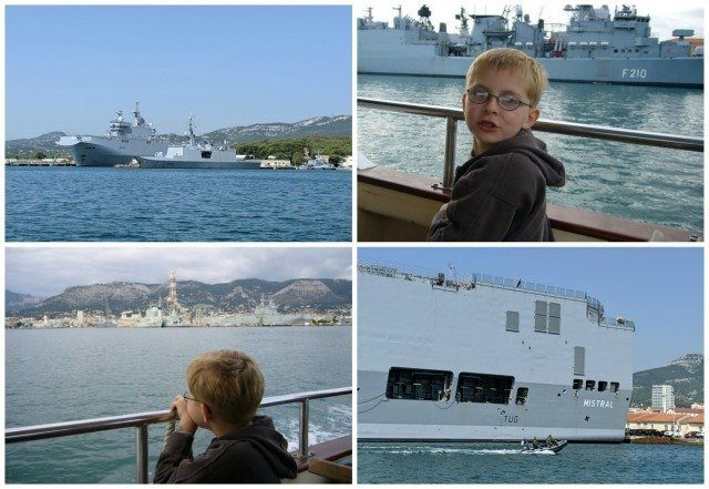 visit Toulon warships | Lou Messugo