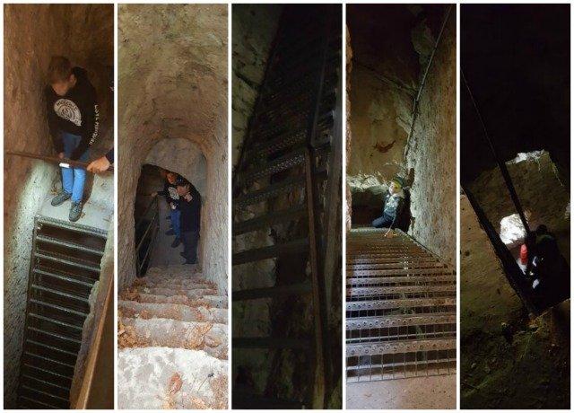 Entrevaux citadel ladders