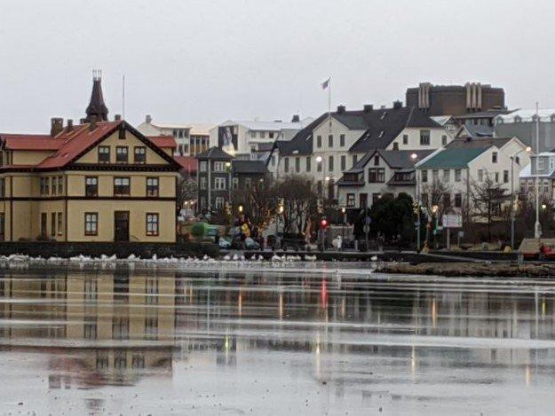 lake in Reykjavik