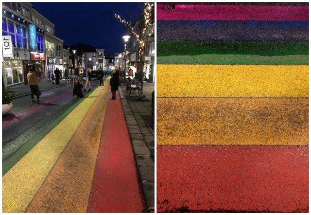 rainbow street Reykjavik