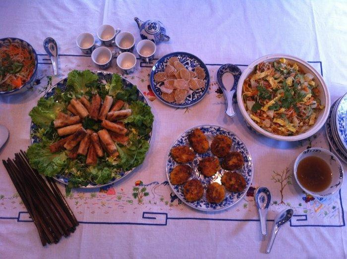 Vietnamese feast | Lou Messugo