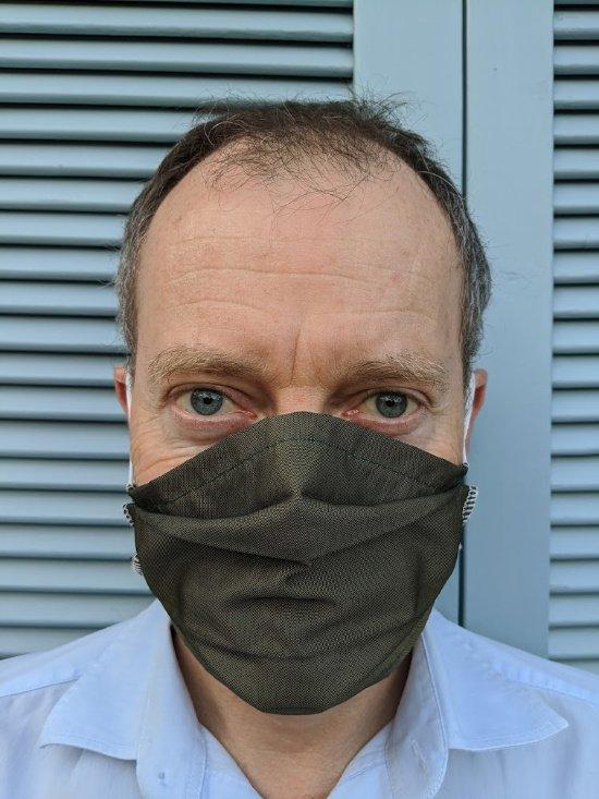 wearing a mask in Coronavirus times
