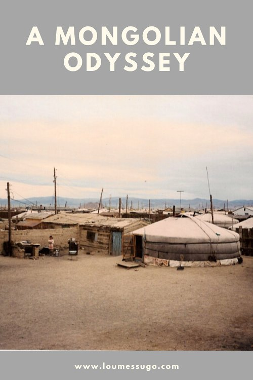 mongolian odessey | Lou Messugo