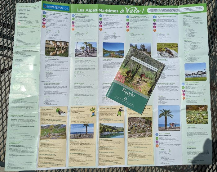 cycling maps and itineraries