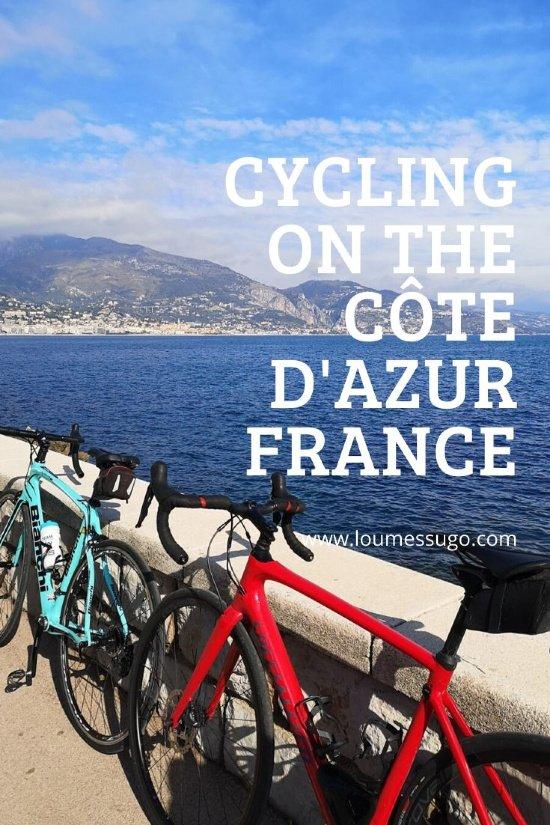 cycling côte d'azur