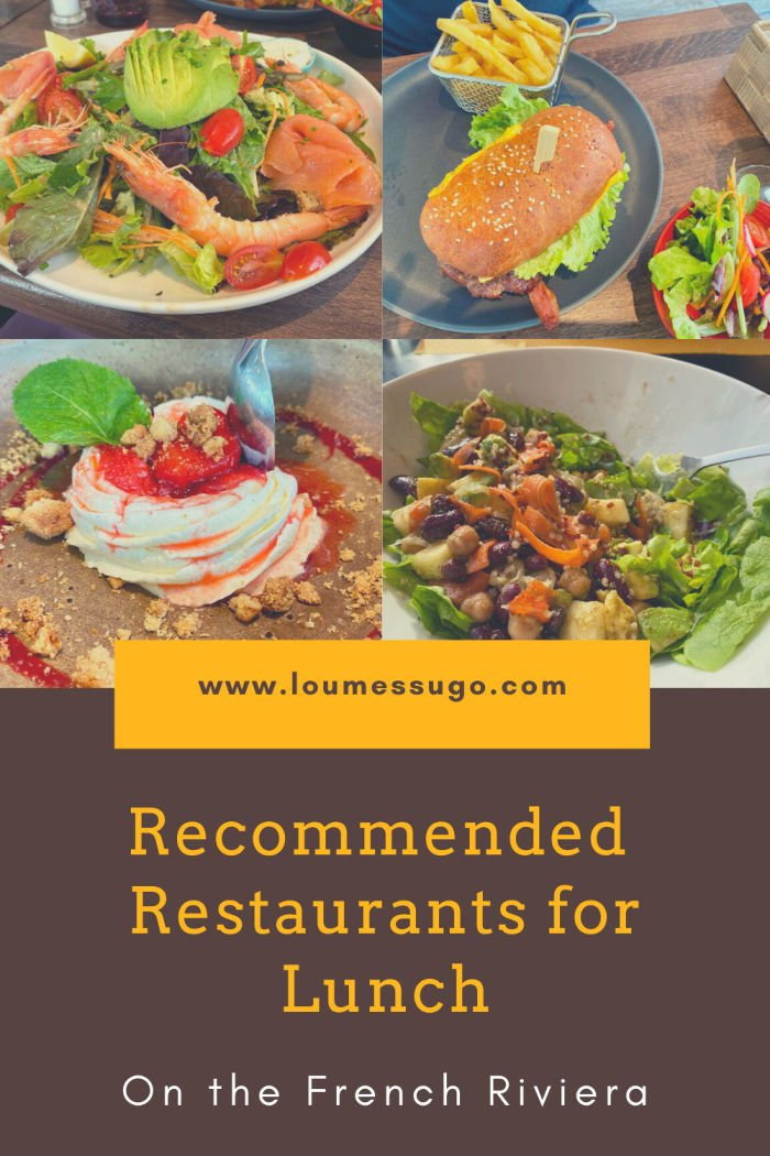 recommended restaurants