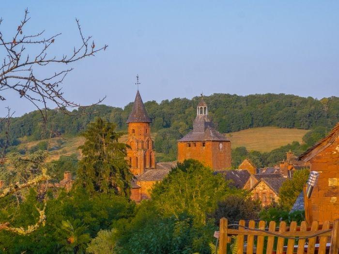 view of Collonges la Rouge village