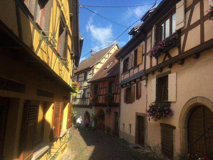 Eguisheim village in Alsace