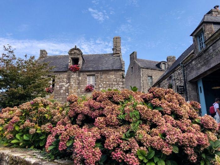 Locronan in Brittany one of les plus beaux villages de France
