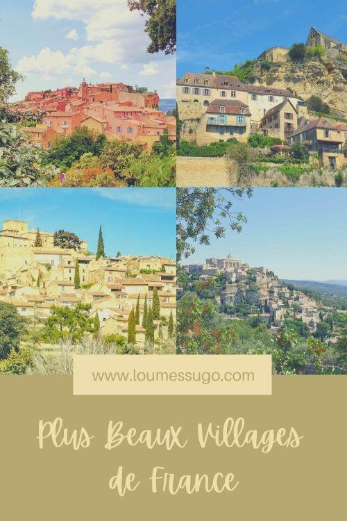 some of the plus beaux villages de France
