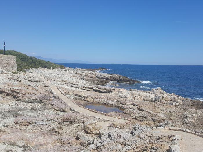 coast walk cap d'antibes
