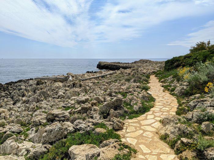 coastal path cap d'antibes