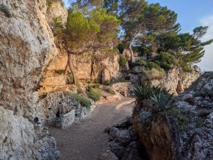 coast walk Cap d'Antibes Côte d'Azur France