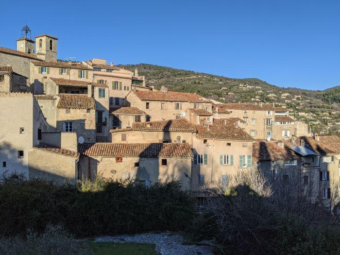 Seillans village in the Var