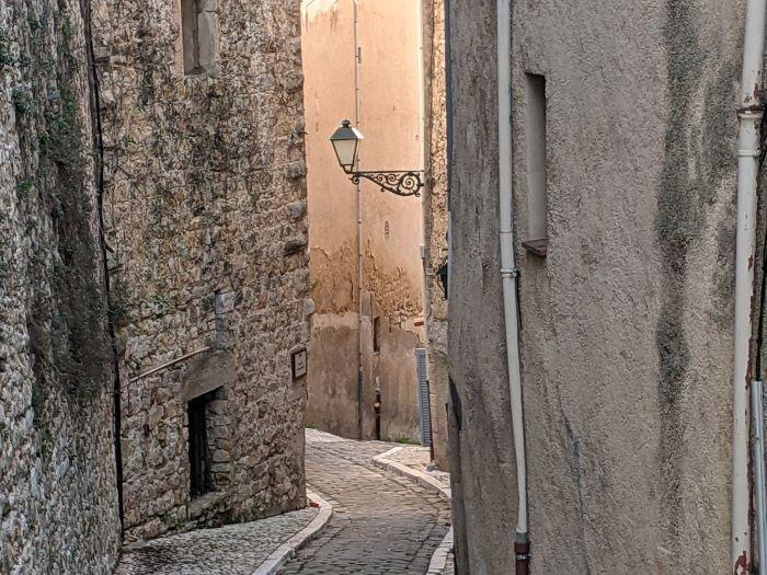 charming village lane