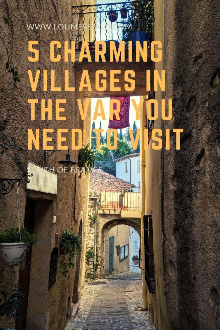 charming villages in the Var to visit